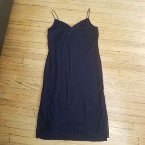 Good American Slip City Velvet Dress